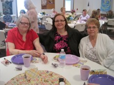 Sherri with her mother, Kathy, and mother-in-law, Ruth