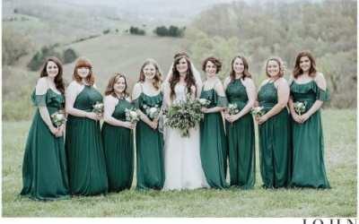 Spout Spring Estates Wedding