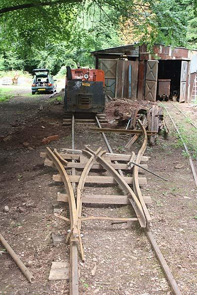 Loop under construction