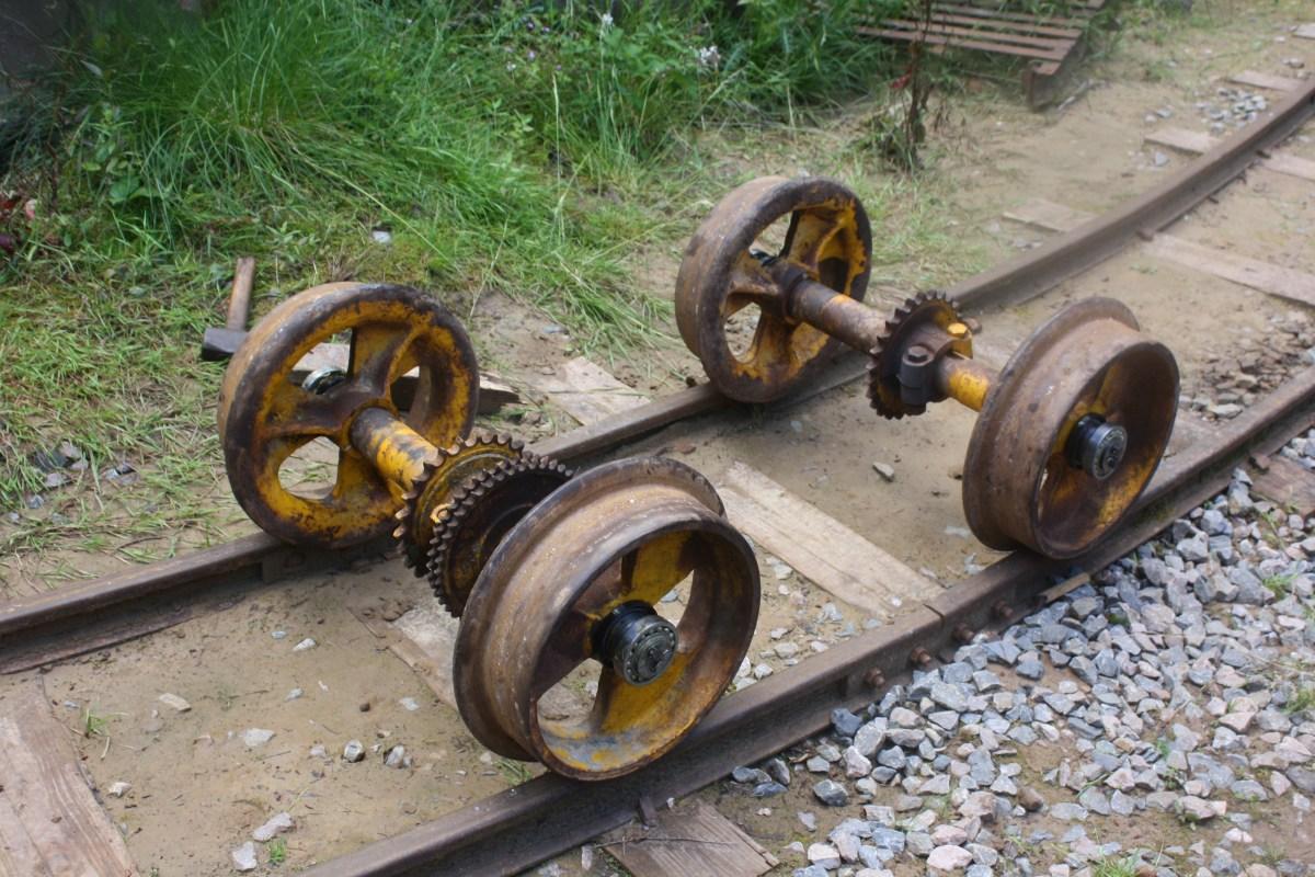 Re-gauged wheelsets
