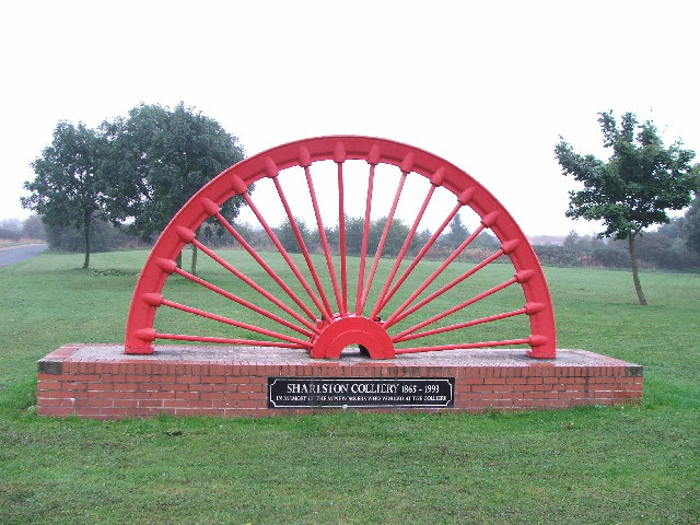 The Miners' Memorial in Sharlston
