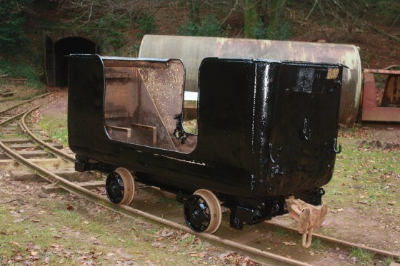 Manrider tub wagon under restoration