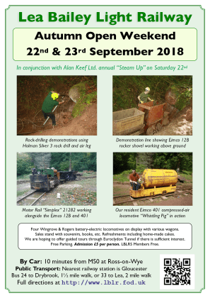 September 2018 Open Weekend