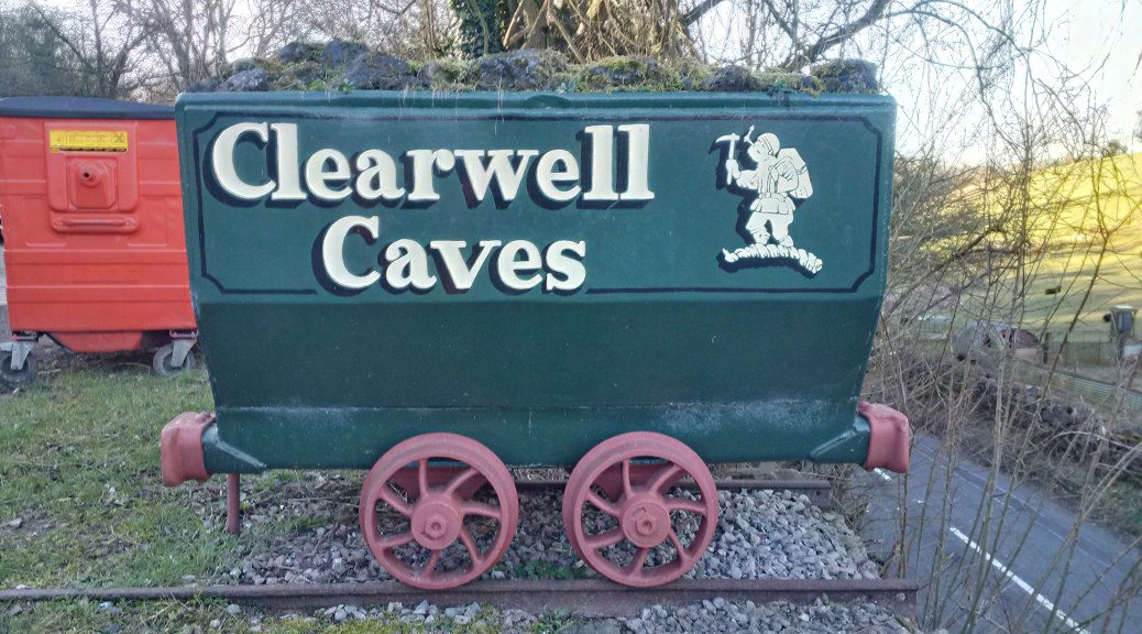 Clearwell Caves wagon