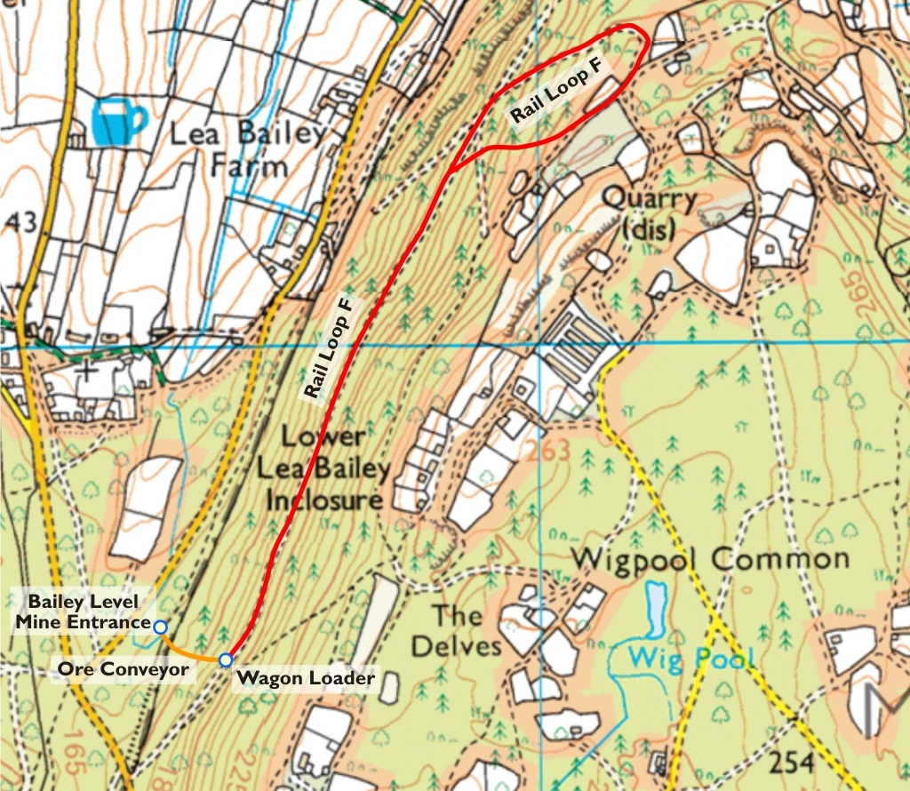 Map of Rail Loop F