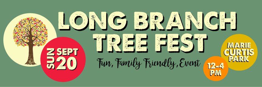 Long Branch TreeFest 2020 Banner
