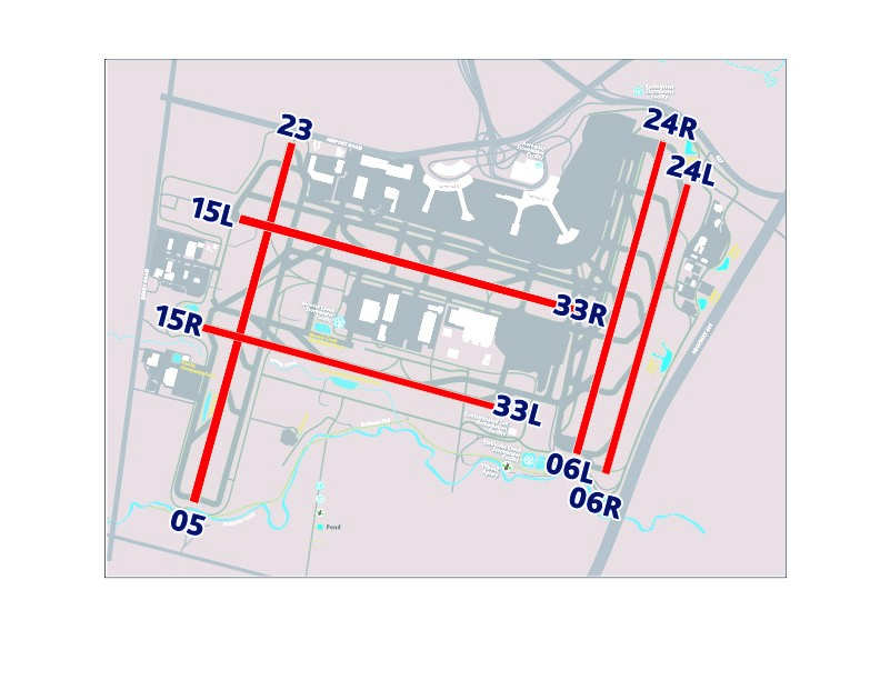 Toronto Pearson Runways