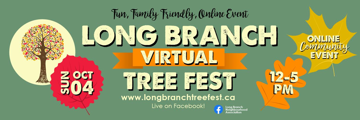 Long Branch Tree Fest 2020 Banner