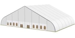 schéma chapiteaux courbe 40 mètres