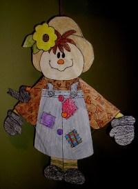 Hanging Scarecrow | KIDS & GLITTER