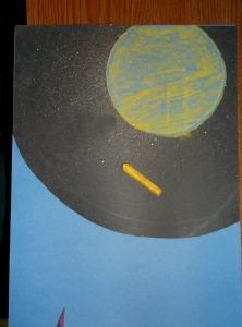 children praying-2-chalk in circle