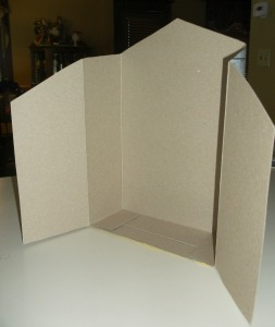 cereal box creche back box  cut