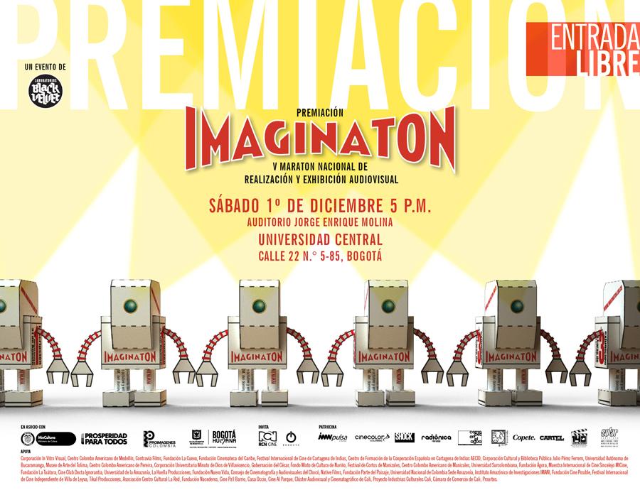 Premiación IMAGINATON 2012