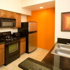 Hotels With Full Kitchens In Orlando Florida Round Kitchen Table Hotel Suites 2 Bedroom Suite Two