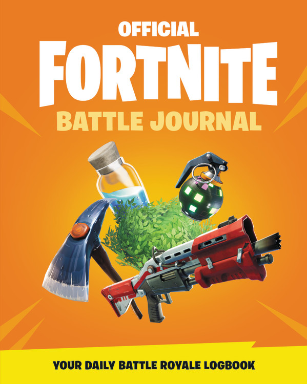 Fortnite Official Battle Journal By Epic Games Little