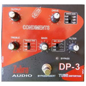 Zebra tube distortion DP-3 sound music