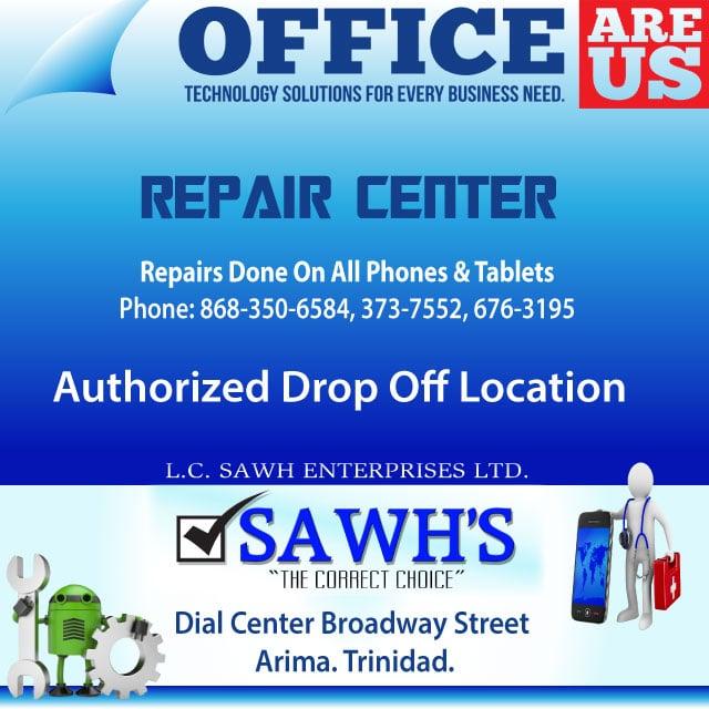 sawhs authorized drop off location arima crack -damage screen
