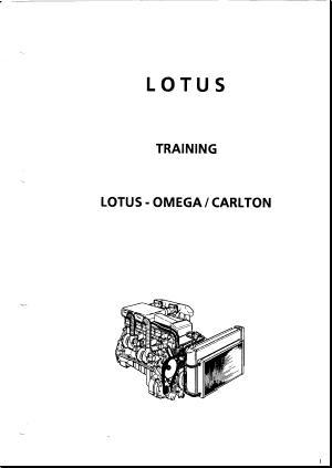 Lotus Carlton / Omega Downloads