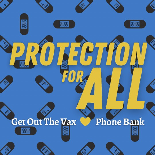Vaccine Outreach Tuesday Phone Bank via @joinlcac