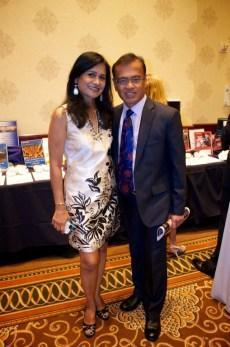 Anu and Dr. Nat Bala