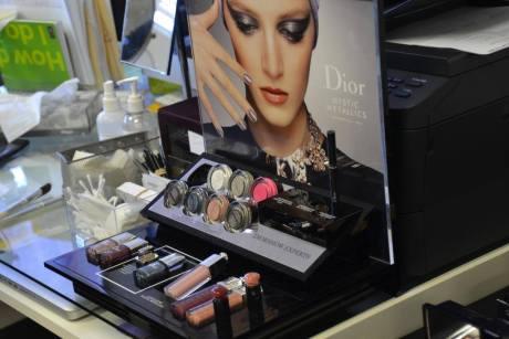 Dior Pop Up Make Up Station