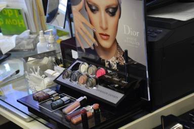 Dior Pop Up Make Up Station