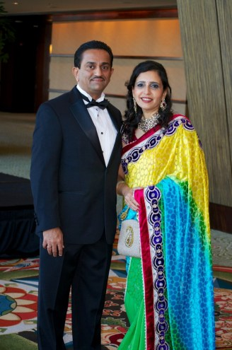 Pankaj and Asha Dhume
