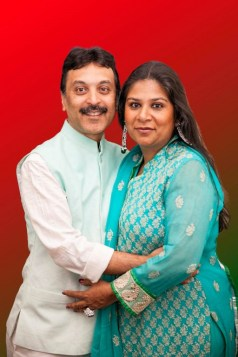 Shefali and Chetan Jhaveri