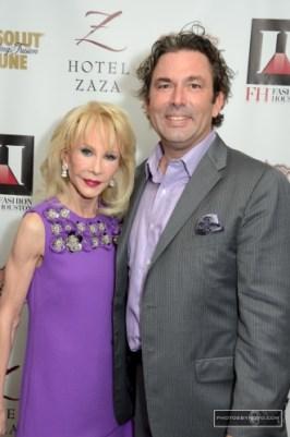 Diane Lokey Farb and Jared Lang