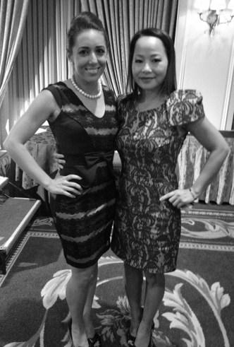 Sonia Azad amd Diane Nguyen