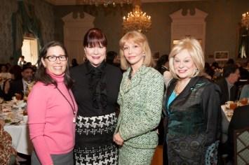 Diana Untermeyer, Barbara Van Postman, Susan Boggio, Sidney Faust