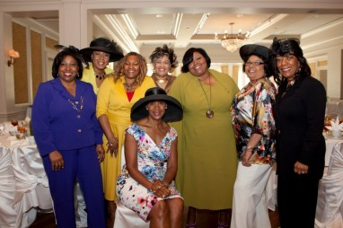 Suzette Caldwell and guests