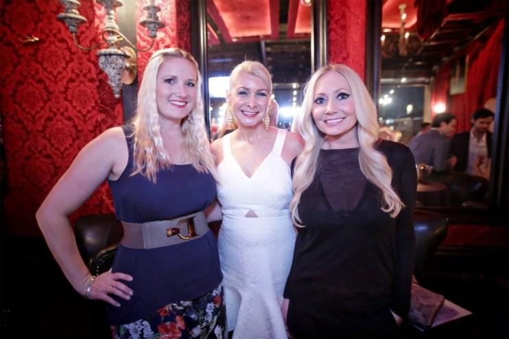 Nicole Brende, Laura Cernock, Lori Lemon Geshay