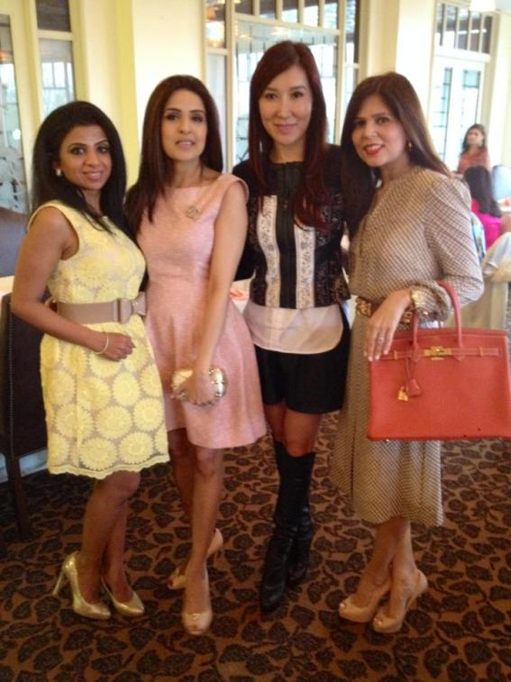 Farida Abjani, Sneha Merchant, Mandy Kao, Habiba Dhanani