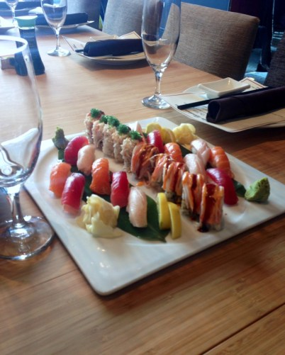 Chef's choice of sushi rolls