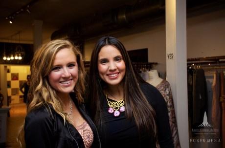 Caroline Atkinson and Claudia Ayala