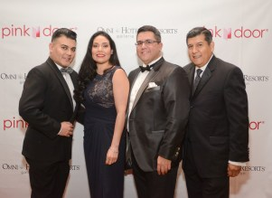 Edward Sanchez, Enid Sanchez, Dr. Roland Maldonado, and Raul Diaz