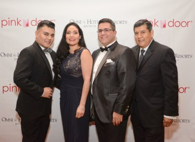 Edward Sanchez, Enid Sanchez, Dr. Roland Maldonado, and Raul Diaz