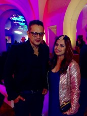 Naeem Khan and Ruchi Mukherjee