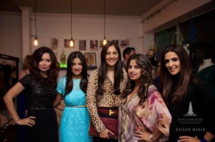 Huma Nawab, Sarveet Singh, Sippi Khurana, Ruchi Mukherjee, Sneha Merchant