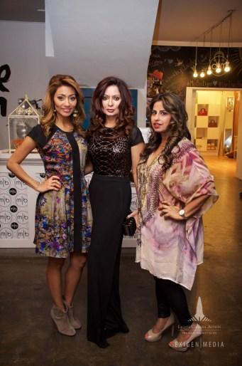 Rita Garcia, Huma Nawab, Ruchi Mukherjee