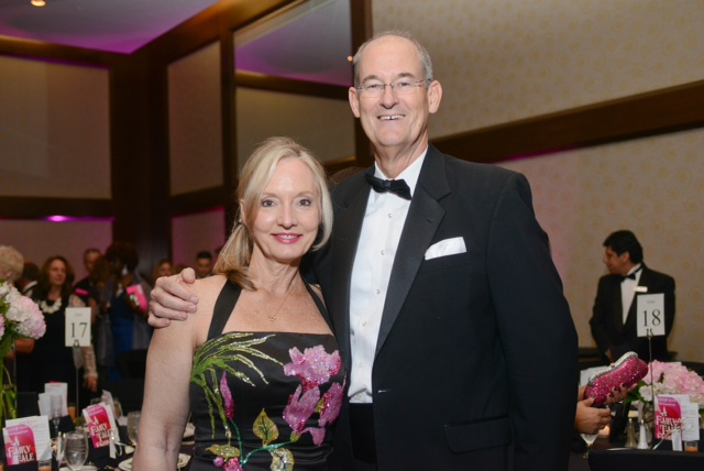 Survivor Honoree Lyn Hutchinson and her husband Bill Hutchinson