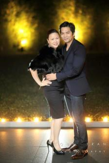 Founder of KnowAutism Tammy Tran Nguyen with her husband Wayne Nguyen