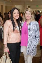 Monica Huffman and Courtney Toomey