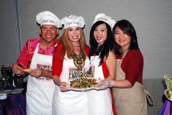 Alex Matinez, Cindi Rose, Connie Kwan-Wong and Victoria Zhang