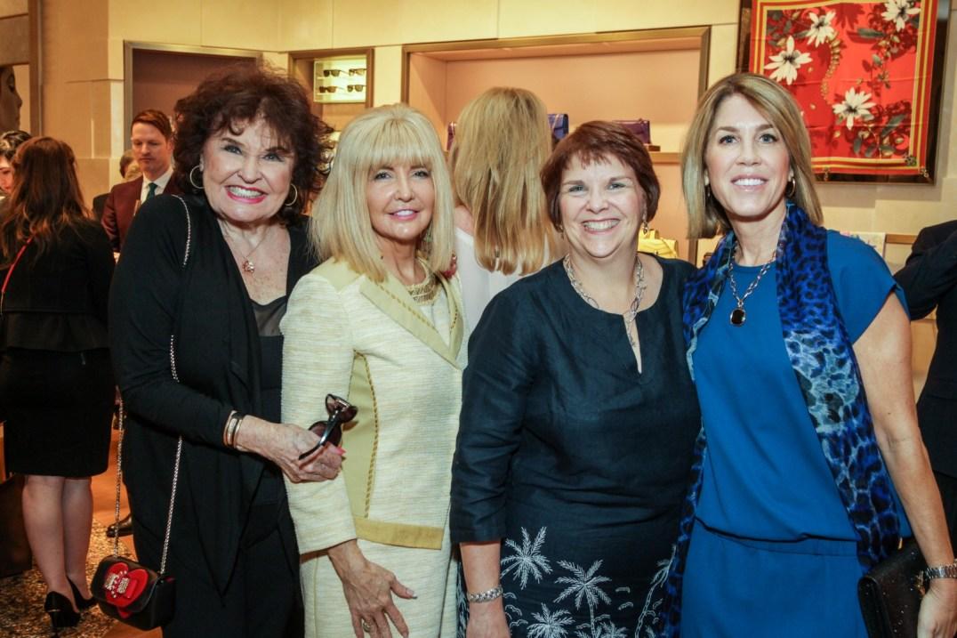 Warner Roberts, Pam Lockard, Lisa Modglin, and Janelle Reid
