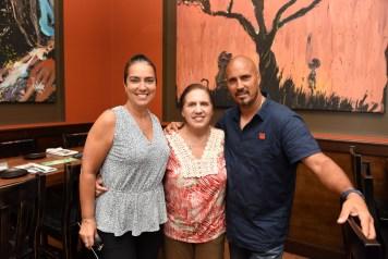 Jessy Melendez, Norma Suarez, Tony Melendez (TM Baseball Academy)