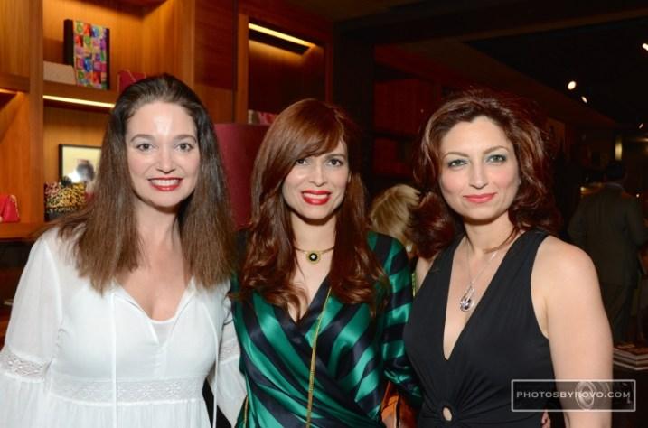 Maria Bassa, Karina Barbieri, Mahzad Mohajer