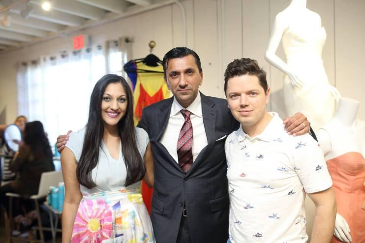 Sippi & Ajay Kurana and David Peck