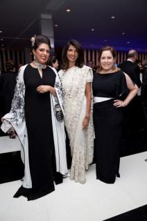 Nidhika Mehta; Sultana Mangalji; Kari Gonzales; Photo by Jenny Antill